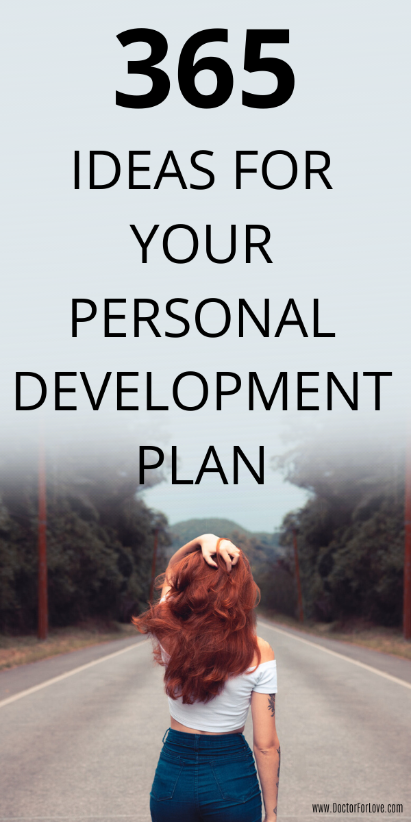 365 Ideas For Your Personal Development Plan