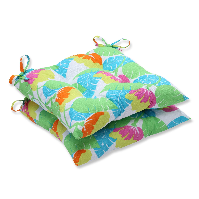 Avia fiesta wrought iron seat cushion set of outdoor cushions