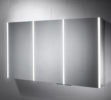 Nevada 1200 X 700 Led Illuminated Audio Bathroom Cabinet Mirror