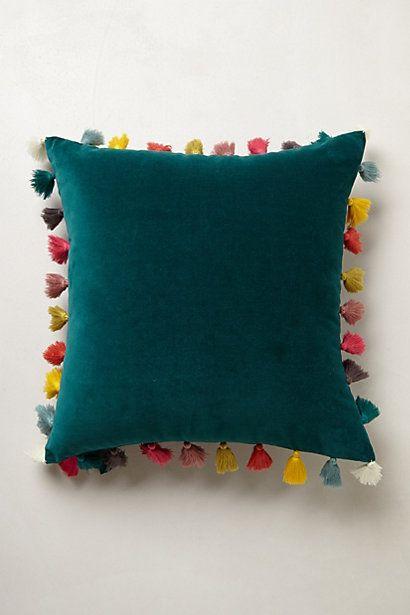 Firenze Velvet Tassel Pillow In 2019 Make This Diy Pillows Throw Pillows Cushions