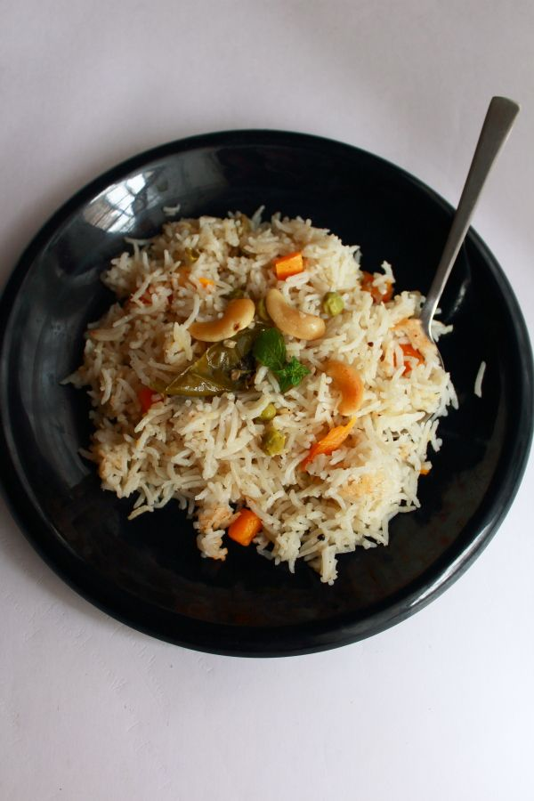 Coconut Milk Rice Tasty And Easy To Make Rice Recipe For Lunch