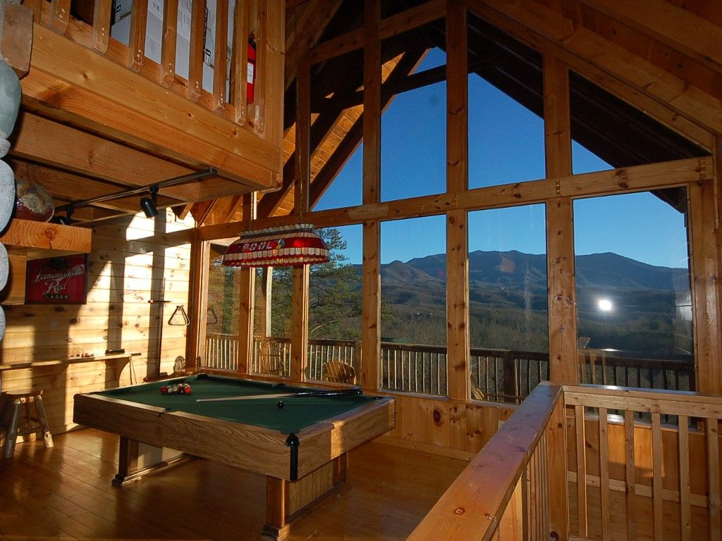 Smoky Mountain High Is Perched Above Gatlinburg With A Close Up View Of  Mount LeConte
