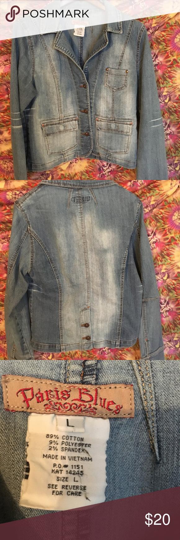 Paris Blues Denim Jacket Denim Jacket Blue Denim Jacket Denim [ 1740 x 580 Pixel ]