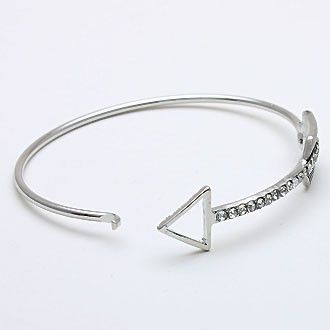 Nissa Jewelry - Curved Arrow Bracelet *Limited Edition*, $78.00 (http://www.nissajewelry.com/curved-arrow-bracelet-limited-edition/)