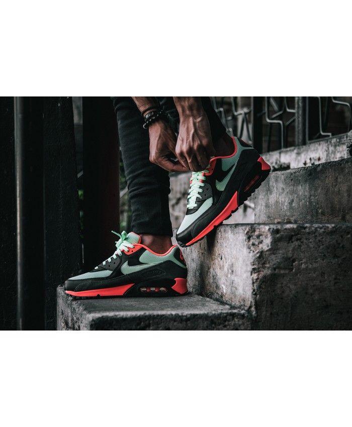 Chaussure Nike Air Max 90 Essential Vapor Vert   Nike air max ...