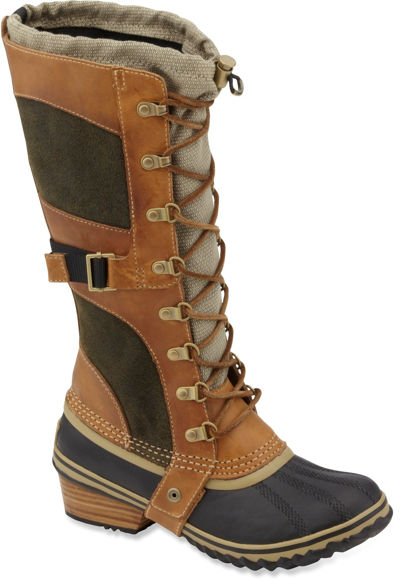 ae4e4578d4e52 Sorel Conquest Carly Winter Boots - Women s - Free Shipping at REI ...