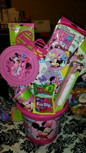 Minnie mouse easter basket my crafts pinterest easter minnie mouse easter basket negle Gallery