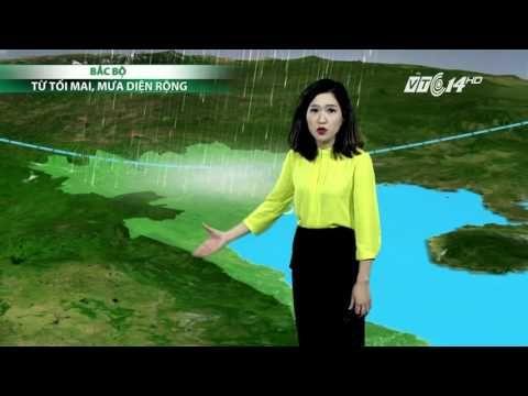 (VTC14)_Thời tiết 6h00 ngày 14.05.2016