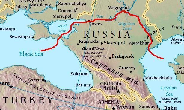 Caucasus Mountain Range Area of moises salazar Apr april june - fresh world map in russian