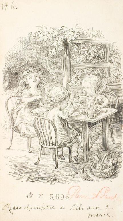 Countryside meal | Lorenz Frølich | 1887 | Statens Museum for Kunst | CC0