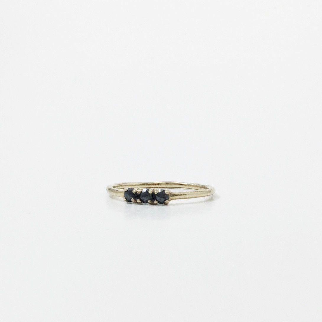 Black diamond trio ring black diamonds and products