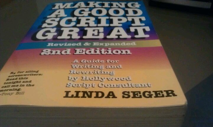 """Making a good script great"" by Linda Seger"