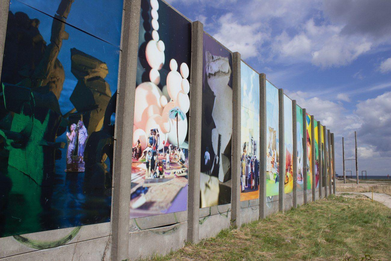 Christian Schmidt-Rasmussens 32 meter murkunst, Vi lever på ruinerne af en glorværdig fremtid, 2013