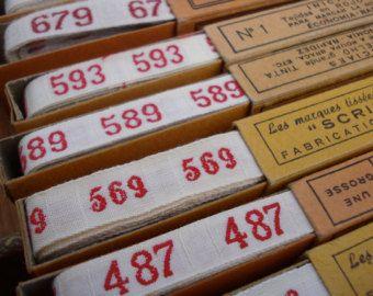 Vintage Laundry Label