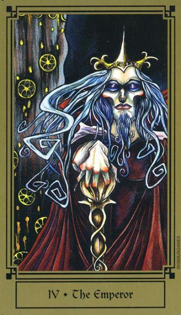 More Tarot Tuesday The Occult Detective The High: The Emperor - Fantastical Tarot