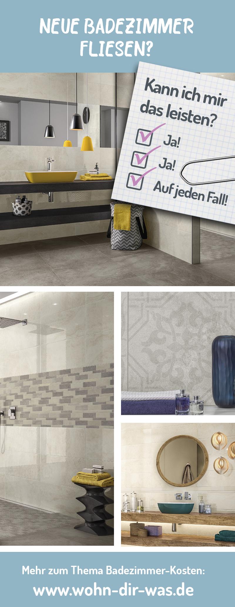 So Viel Kostet Dein Traumbad Neues Badezimmer Leisten Und Fliesen - Was kostet ein badezimmer fliesen