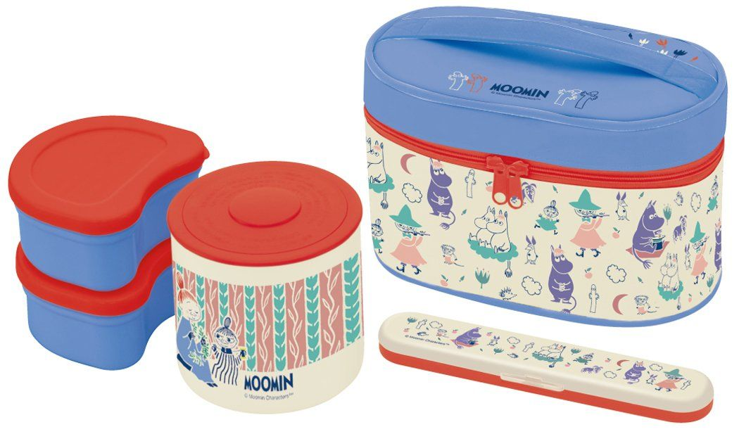 537d7811e5e1 MOOMIN (Moomin) fork case with heat insulation jar with lunch box ...