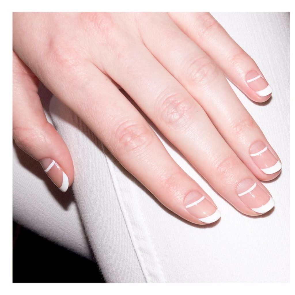 10 New Ways to Wear a French Manicure | Nail nail, Makeup and Nail inspo
