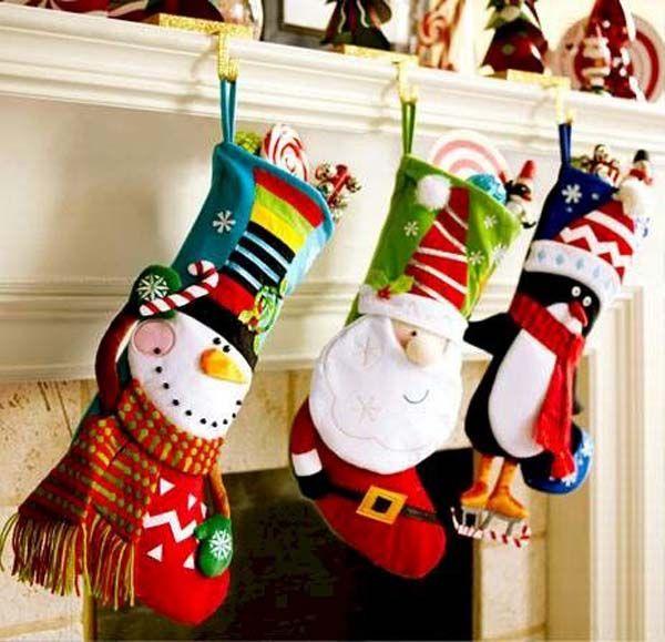 19 Creative Christmas Stockings Decorating Ideas Christmas
