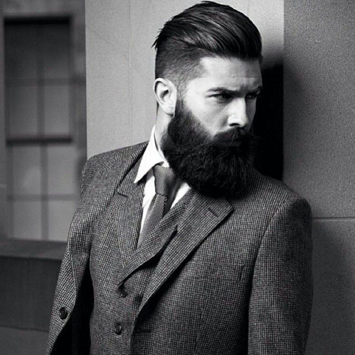 Exceptional Elegant Mens Hairstyles With Beards 2018 ~ Pelo Largo.com