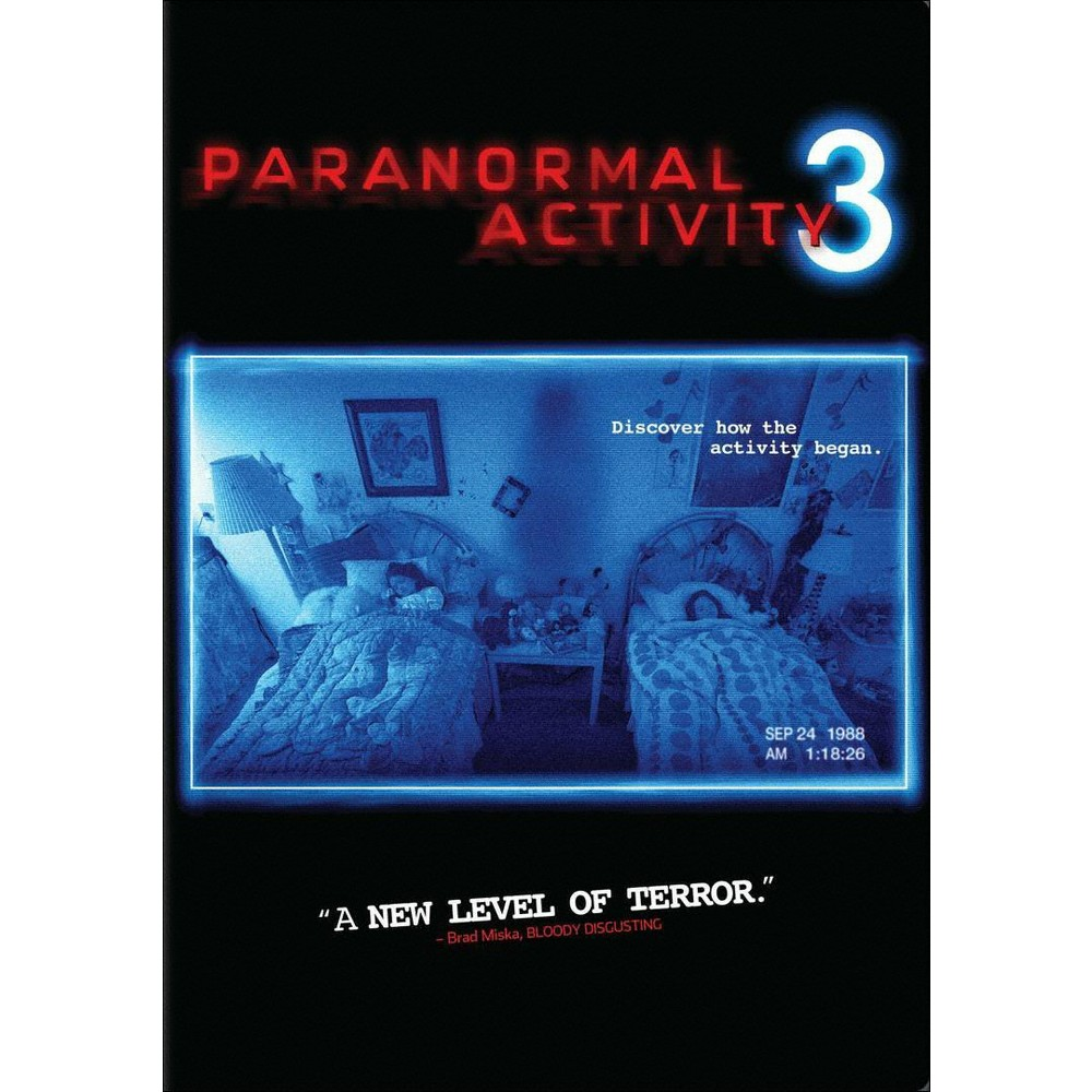 Paranormal Activity 3 Paranormal Activity 3 Paranormal Scary