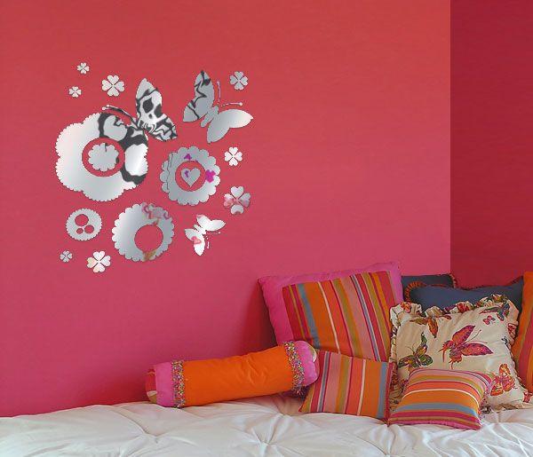 habitaciones decoradas con vinilos de notas musicales