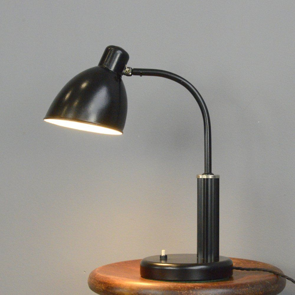 For Sale Bauhaus Desk Lamp By Molitor Circa 1930s In 2020 Lamp Desk Lamp Table Lamp