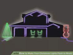 Make Your Christmas Lights Flash To Music Christmas Lights To Music Fix Christmas Lights Hanging Christmas Lights