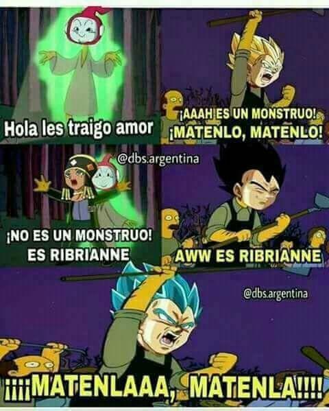 Memes De Dragon Ball Z Memes Divertidos Memes Memes Graciosos
