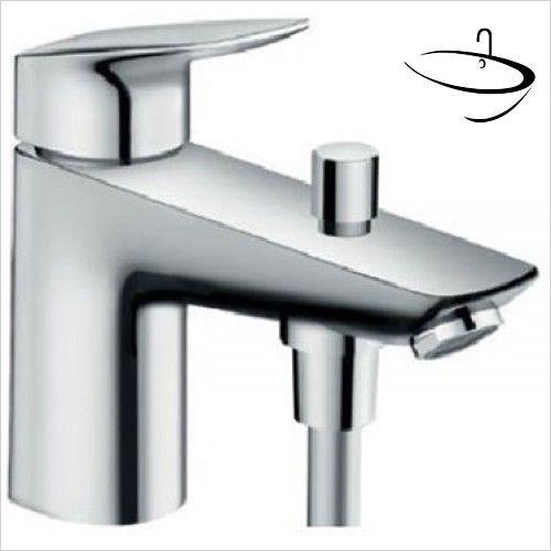 Hansgrohe Taps - Logis Monotrou Single Lever Bath And Shower Mixer