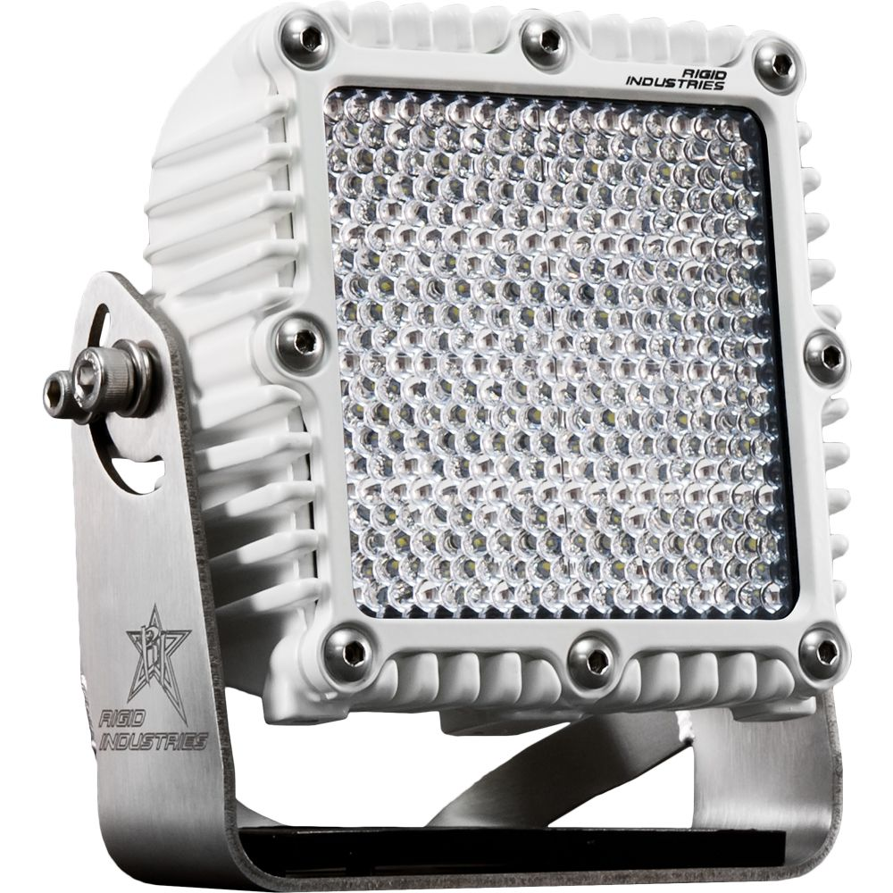 Rigid Industies M Q2 Series 60 Degree Diffused Spreader Light Single Marine Led Lights Diffuser Diffused Light