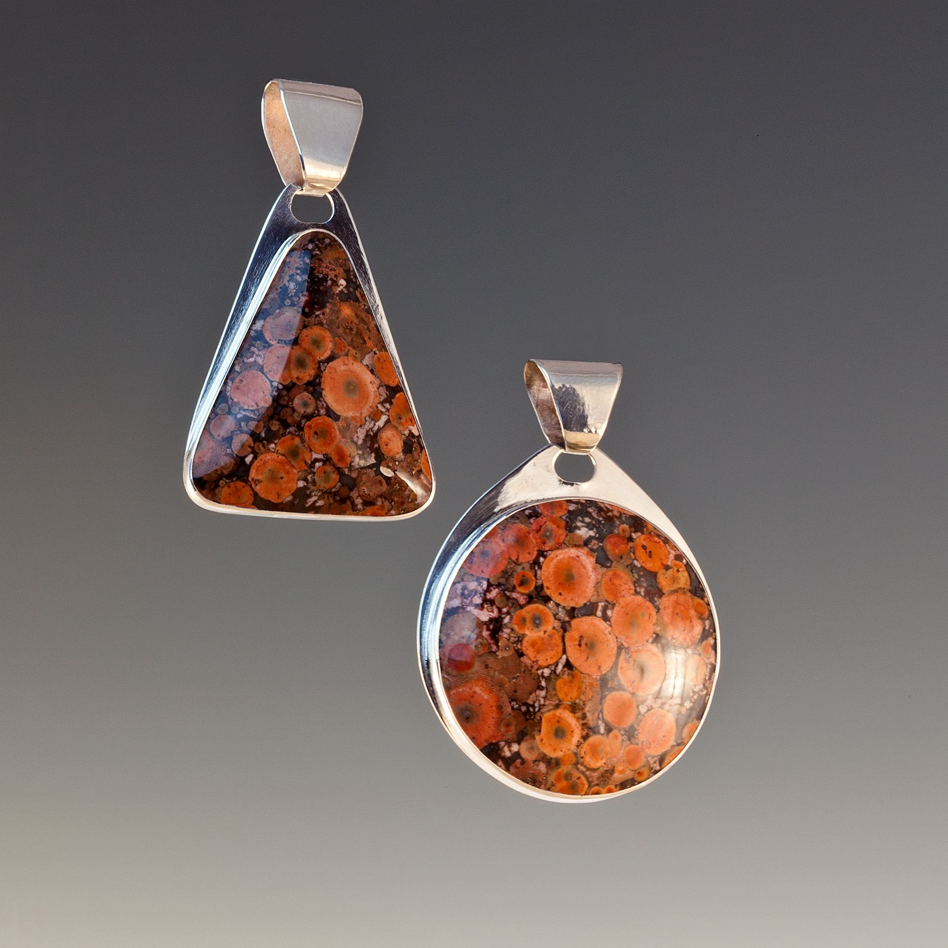 Morgan Hill Poppy Jasper Pendant Duo In 2019 Jasper