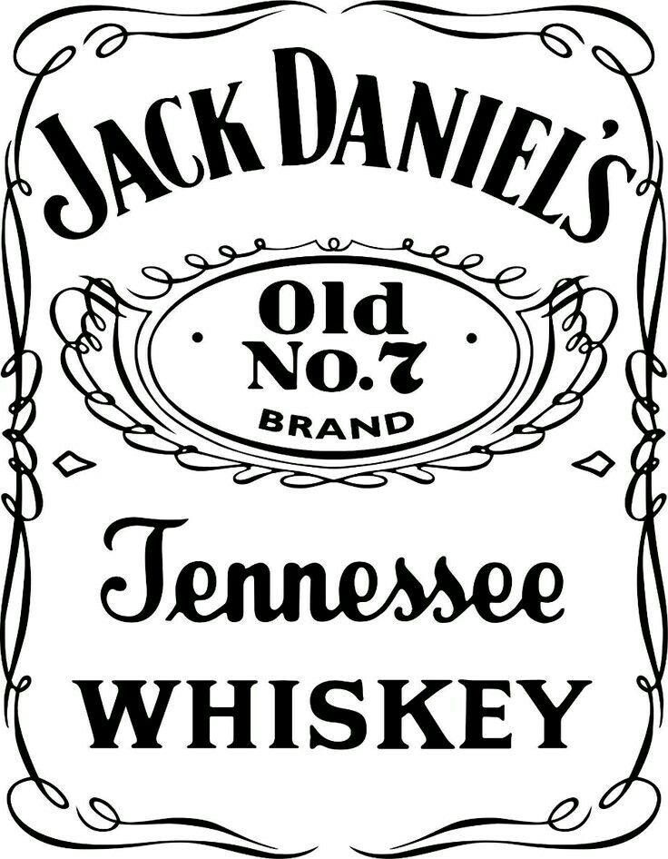 Pin By Nicole Green On Vintage Bar Signs Jack Daniels Logo Label Templates Jack Daniels Label