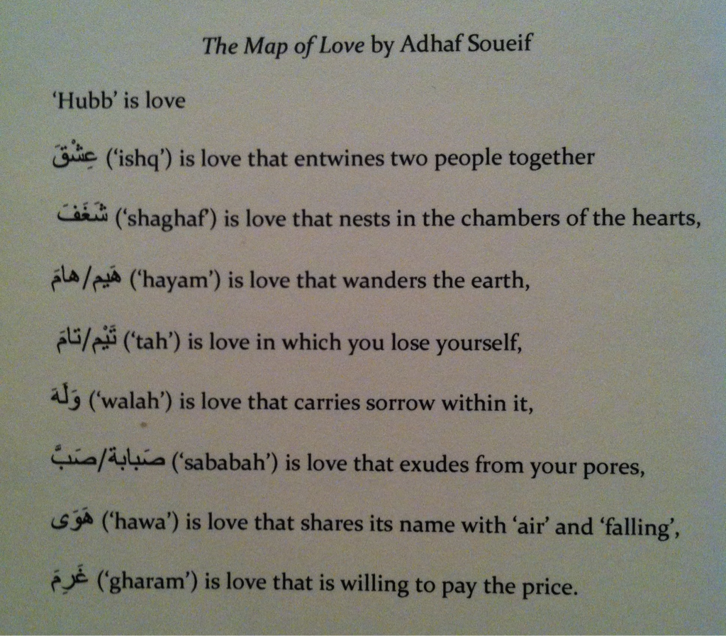 arabic love translation lovely the map of love by adhaf soueif