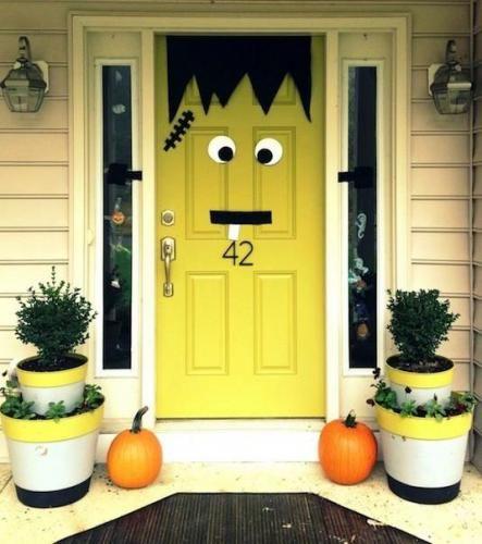 Bejárat - Halloween Dekoráció őszre, halloweenra Pinterest