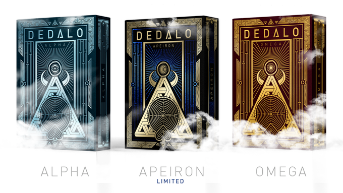 Dedalo Playing Cards by Thirdway Industries — Kickstarter