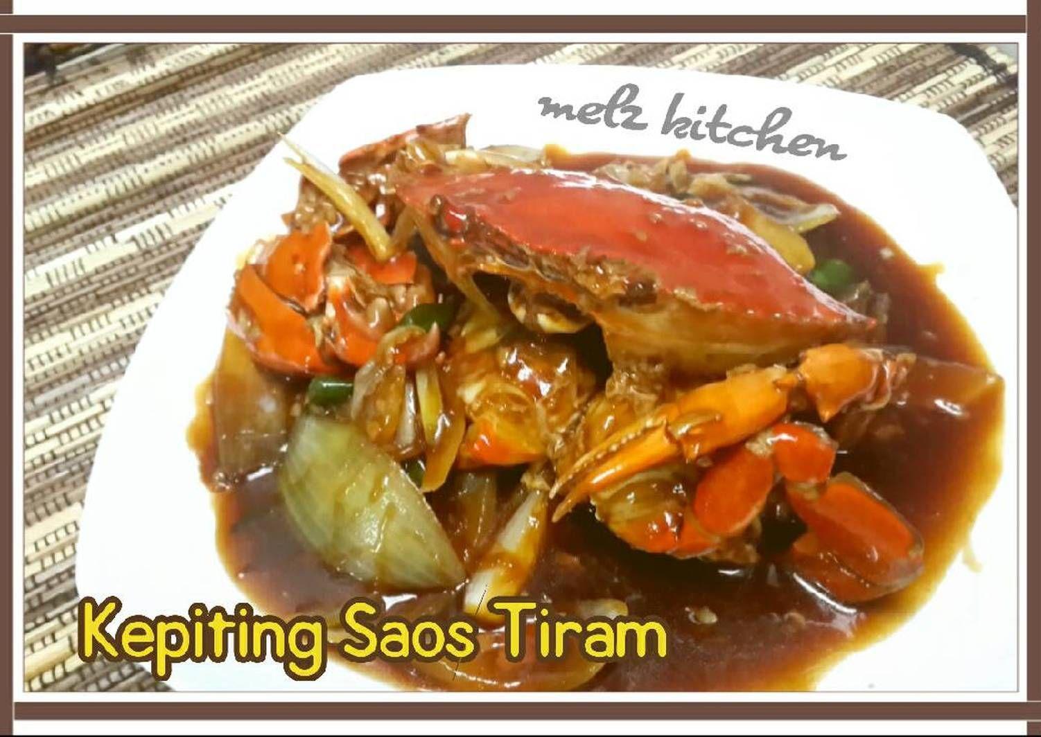 Resep Kepiting Saos Tiram Oleh Melz Kitchen Resep Resep Kepiting Kepiting Resep Masakan