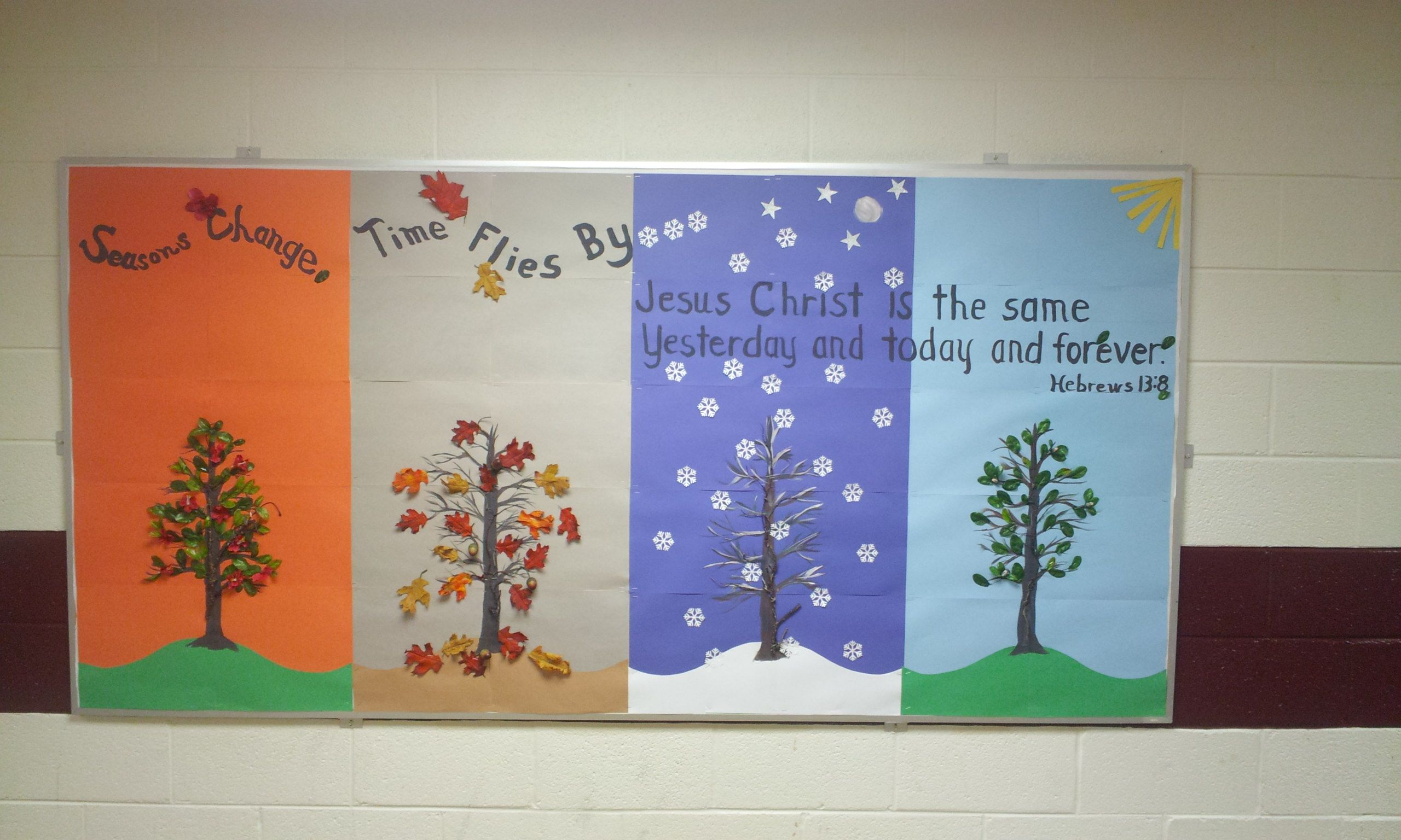 High School Christian Bulletin Board For Anytime Of The Year I Did If Fall Boards Theme Art