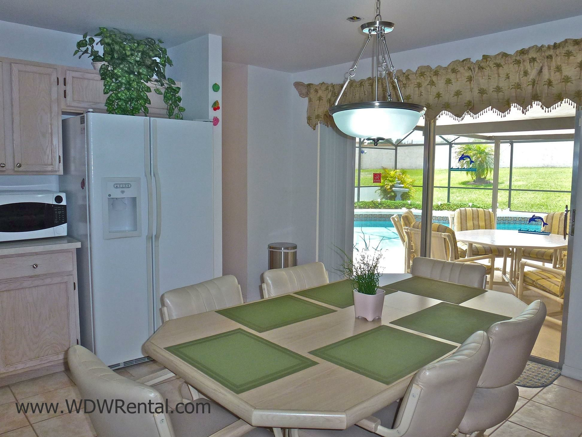 Eatin kitchen table and chairs for a meal or family gathering