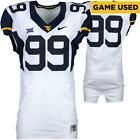 WVU Mountaineers GU #89 White Jersey w/ Big 12 Patch - 2014-17 Seasons - Size 44 #wvumountaineers WVU Mountaineers GU #89 White Jersey w/ Big 12 Patch - 2014-17 Seasons - Size 44 #wvumountaineers
