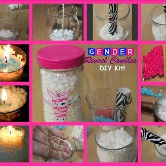 Gender Reveal Candles For Your Next Gender Reveal Party Gender Reveal Candle Pink Zebra Consultant Pink Zebra Sprinkles