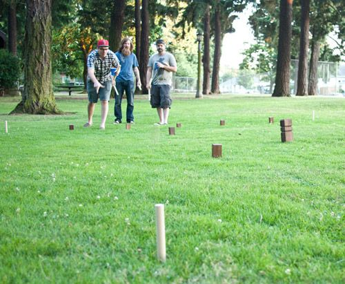 DIY KUBB Kubb Pronounced [kʉb] In Swedish Or In Is A Lawn Game Magnificent Lawn Game With Wooden Blocks