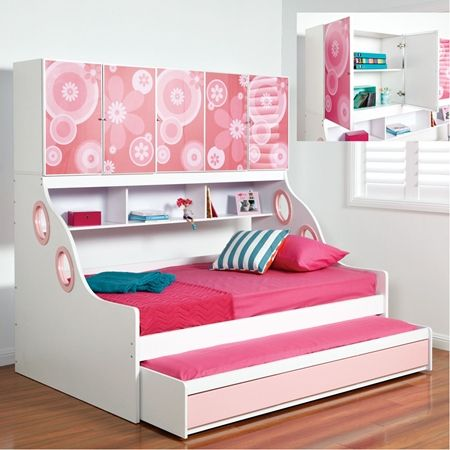 Cool Single Beds amelia single bed with trundle bed, this is cool too :)   for my