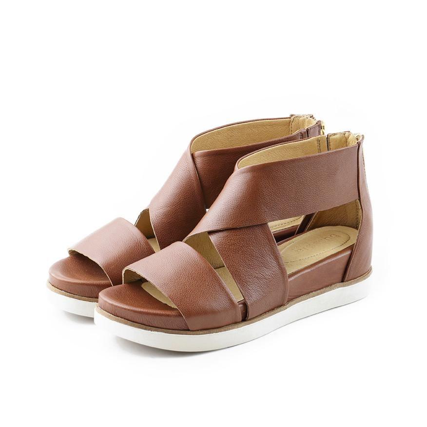 c2c1bc0f89ba Potsdam Wide Straps Sandals (Brandy)