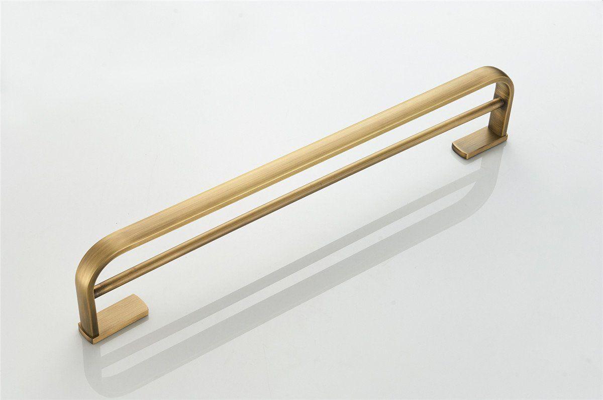 Bathfirst Doppel Handtuchhalter 57 Cm 22 44 Inchs Messing Golden
