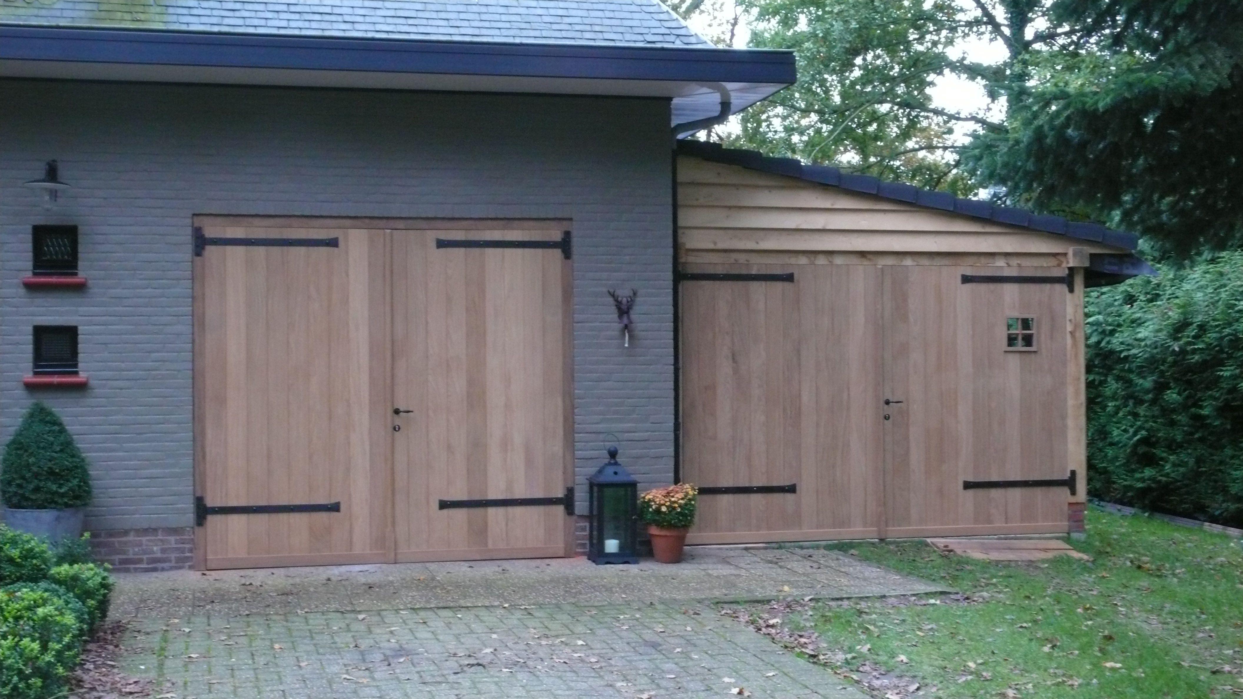 Garage Inrichting Gebruikt : Eiken aanbouw met lessenaarsdak deze ruimte wordt gebruikt als