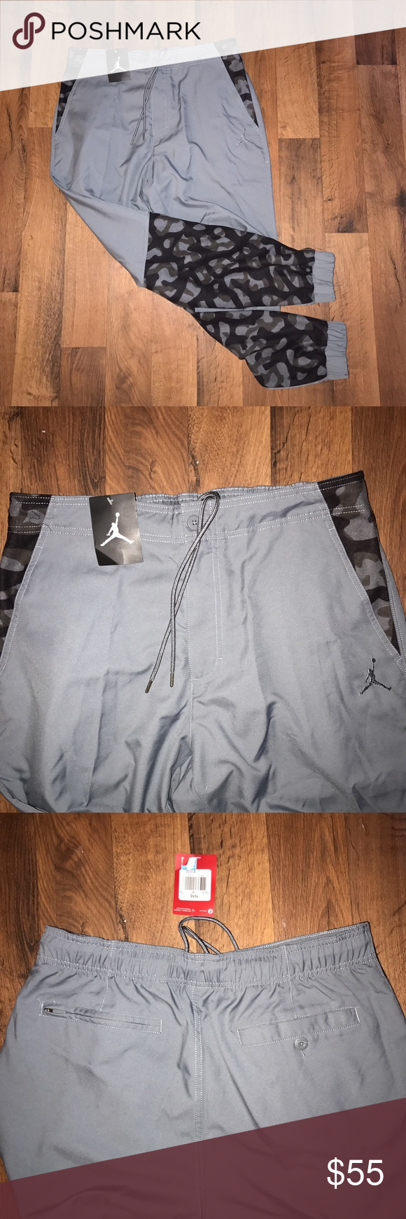 fcb6fe3ed5d7c4 New 36 Jordan Nike Camo Jogger Joggers Pants New Jordan Pants Sweatpants    Joggers