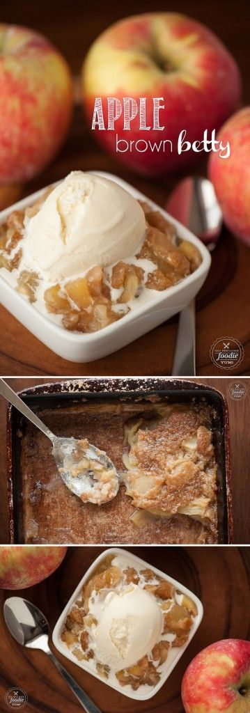 of my favorite fall desserts is my version of Apple Brown Betty which consists of thinly sliced fresh apples with a no oat sweet and buttery topping.