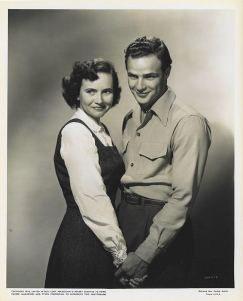 The Men (1950) with Teresa Wright