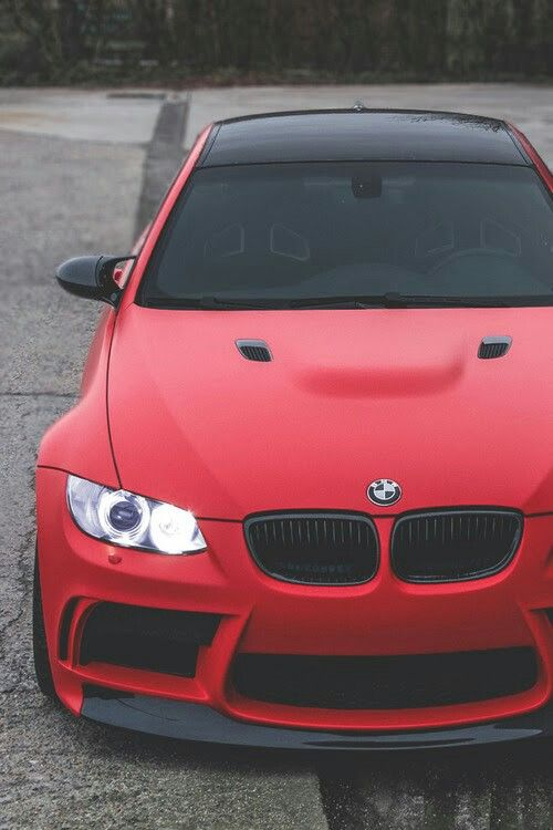 Marvelous BMW E92 M3 Red